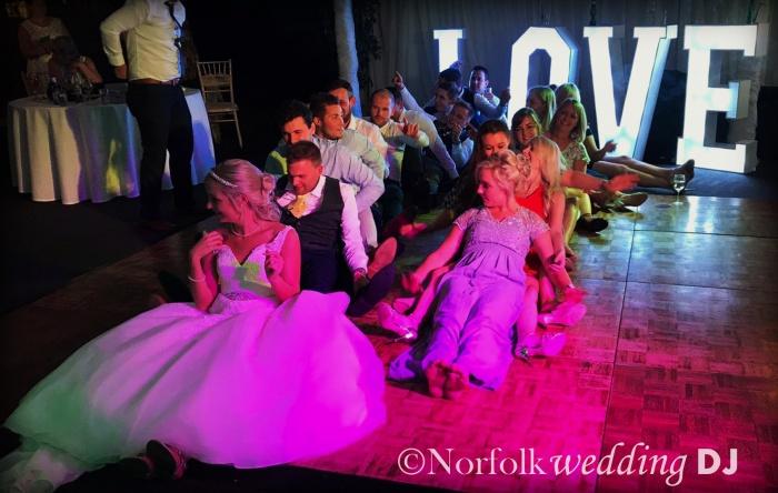 Luke and Beth's Wedding 29.7.17 at Lenwade House Hotel, Norfolk - Norfolk Wedding DJ www.norfolkweddingdj.co.uk
