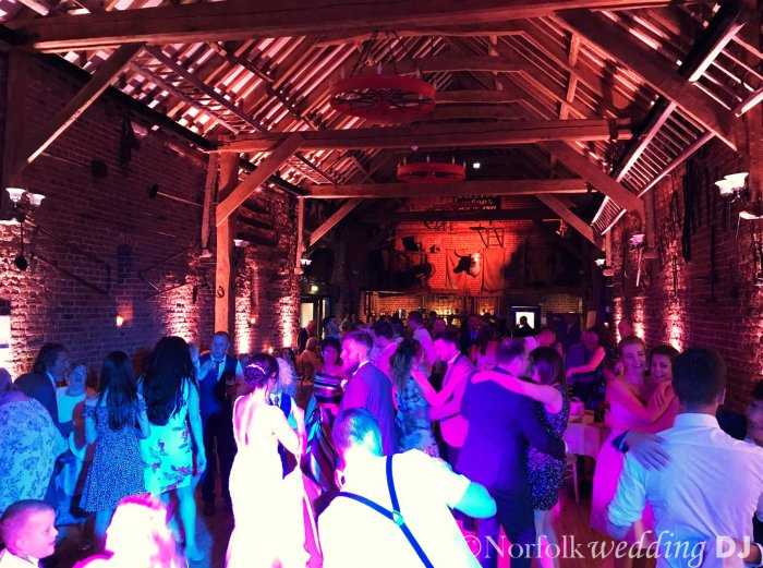 Jamie and Danielle's Wedding 6.8.17 at Hunter's Hall, Norfolk - Norfolk Wedding DJ www.norfolkweddingdj.co.uk