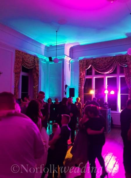 Jason and Kim's Wedding 30.12.17 at Lynford Hall Hotel, Norfolk - Norfolk Wedding DJ www.norfolkweddingdj.co.uk