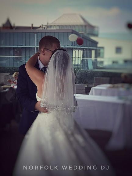 Wedding at Rooftop Gardens, Norwich 4.8.2018 - Norfolk Wedding DJ www.norfolkweddingdj.co.uk