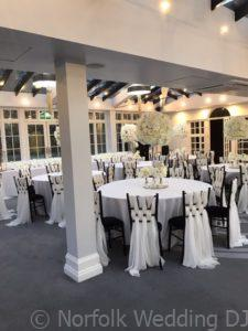 Newmarket Wedding 2019 - Uplighting Before and After - Norfolk Wedding DJ www.norfolkweddingdj.co.uk -