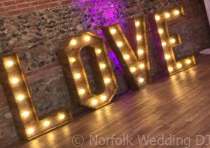 Rustic Vintage Love Letters - Norfolk Wedding DJ www.norfolkweddingdj.co.uk