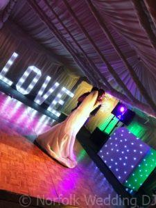 Mr and Mrs Cook's wedding at Lenwade House Hotel, Norfolk 2019 - Norfolk Wedding DJ www.norfolkweddingdj.co.uk