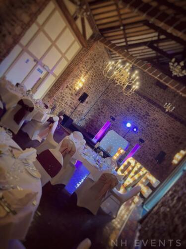 Wedding at Knights Hill Hotel, King's Lynn 14.08.2021 - Norfolk Wedding DJ