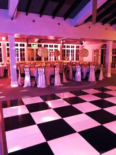 Newmarket Wedding 2019 - Uplighting Before and After - Norfolk Wedding DJ www.norfolkweddingdj.co.uk -